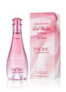 DAVIDOFF Cool Water Woman Sea Rose PACIFIC Summer Edition