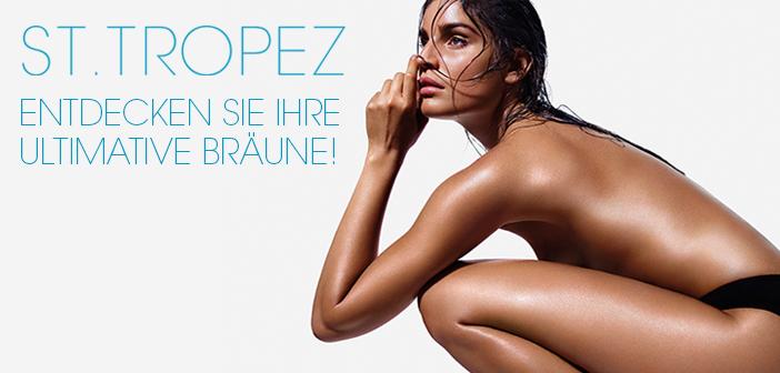 St.Tropez die weltweit führende Marke für Selbstbräunung jetzt wieder im Vertrieb in Deutschland